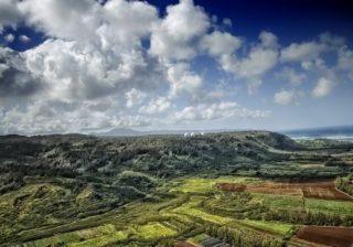 hawaii landscape farm land fields